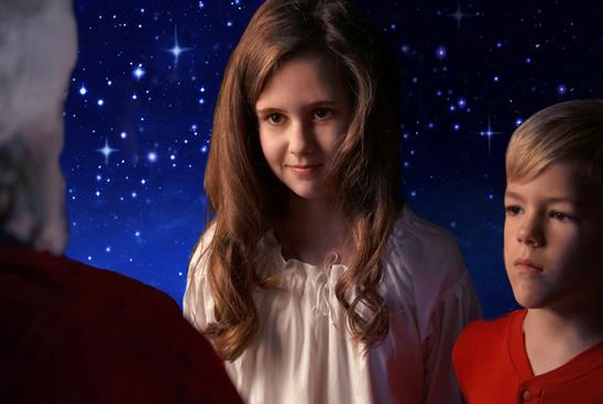 Children's, Christmas, fantasy, film, spiritual, holiday, angels, Santa
